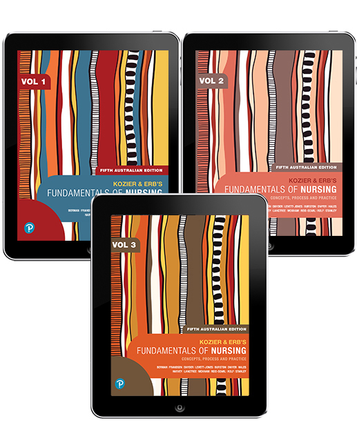 Kozier and Erb's Fundamentals of Nursing, Volumes 1-3 Pearson eText - Image