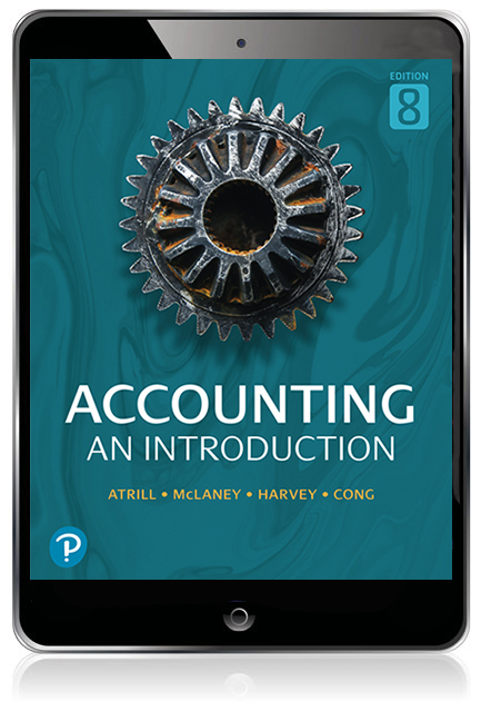 Accounting: An Introduction Pearson eText - Image