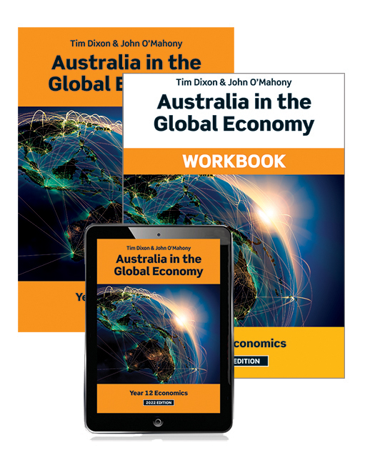 Australia in the Global Economy 2022 Student Book, eBook and Workbook, 11th Edition