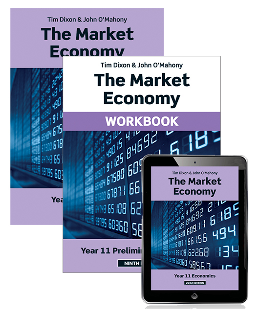 The Market Economy 2022 Student Book, eBook and Workbook