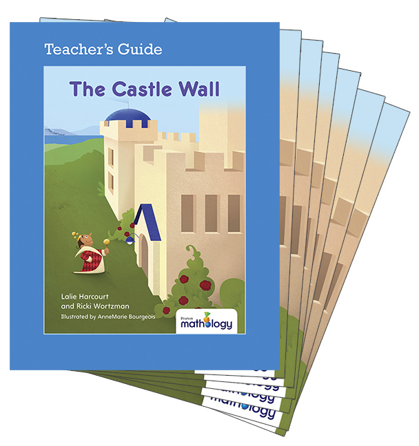 Mathology Little Books - Geometry: The Castle Wall (6 Pack with Teacher's Guide)