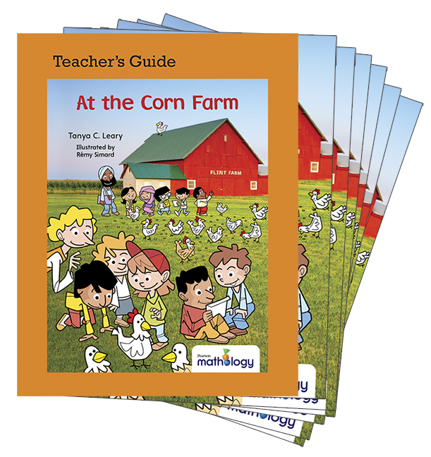 Mathology Little Books - Number: At the Corn Farm (6 Pack with Teacher's Guide)
