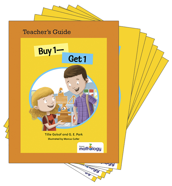 Mathology Little Books - Number: Buy 1 - Get 1 (6 Pack with Teacher's Guide)