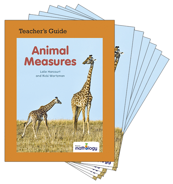 Mathology Little Books - Measurement: Animal Measures (6 Pack with Teacher's Guide)