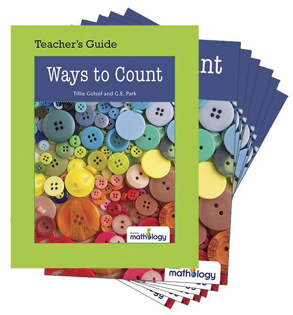 Mathology Little Books - Number: Ways to Count (6 Pack with Teacher's Guide)