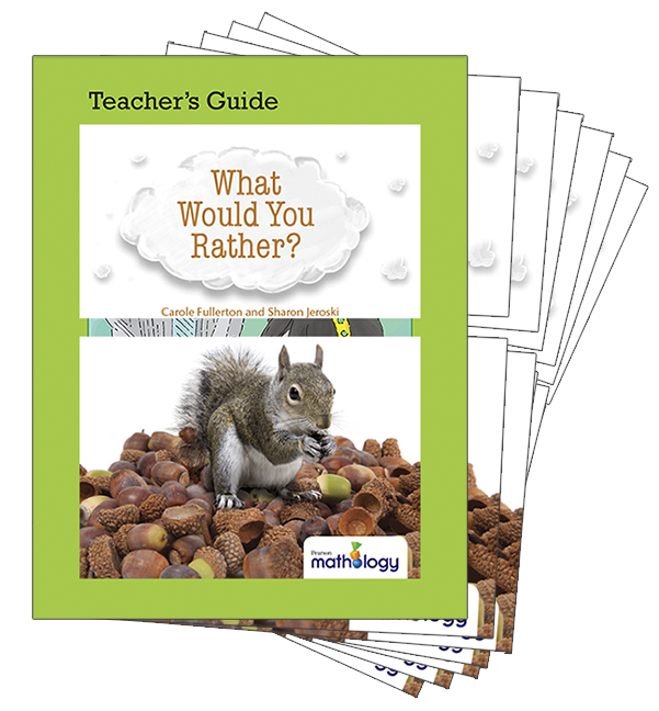 Mathology Little Books - Number: What Would You Rather? (6 Pack with Teacher's Guide)