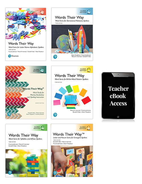 Words Their Way Whole School Resource Pack