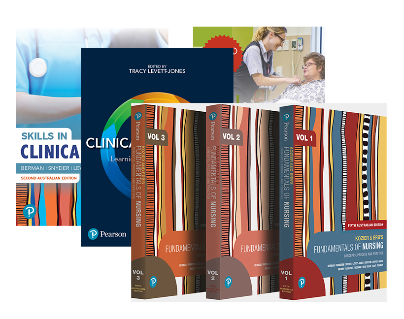 Kozier and Erb's Fundamentals of Nursing, Volumes 1-3 + Skills in Clinical Nursing + Clinical Reasoning + Nursing Student's Clinical Survival Guide, 5th Edition