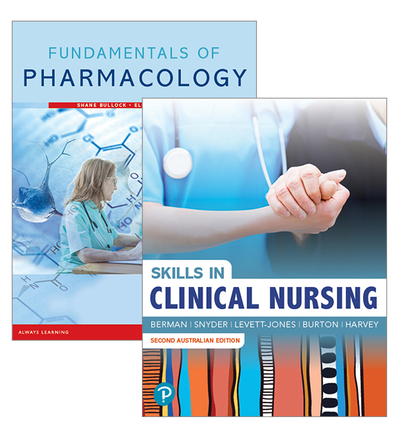 Fundamentals of Pharmacology + Skills in Clinical Nursing, 8th Edition