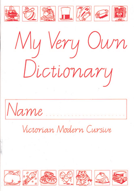 Evely Revised Edition for Victoria: My Very Own Dictionary - Image