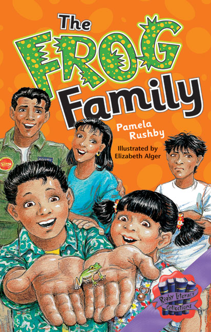 Rigby Literacy Collections Level 6 Phase 10: The Frog Family (Reading Level 30++/F&P Level W-Z)