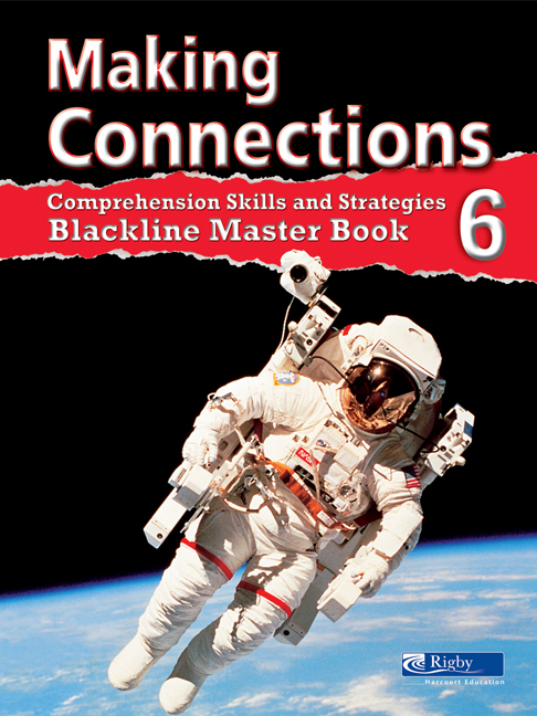 Making Connections Blackline Master Book 6