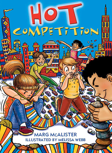Rigby Literacy Collections Take-Home Library Upper Primary: Hot Competition (Reading Level 29-30/F&P Levels T-U) - Image
