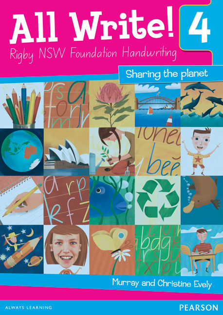 All Write! 4 Rigby NSW Foundation Handwriting: Sharing the Planet - Image