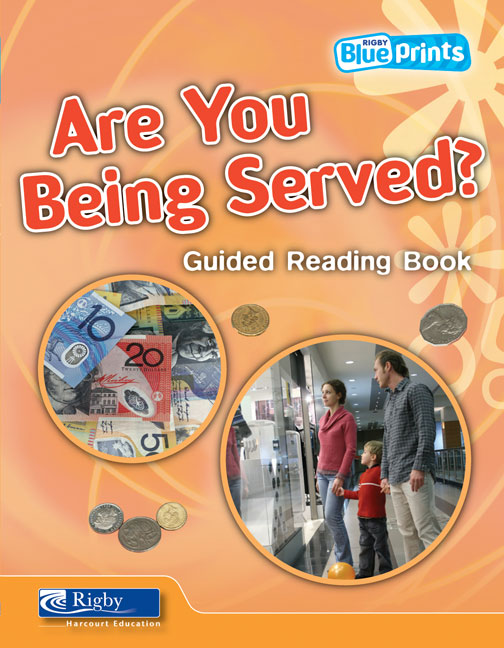 Blueprints Middle Primary B Unit 2: Are You Being Served? Guided Reading Book