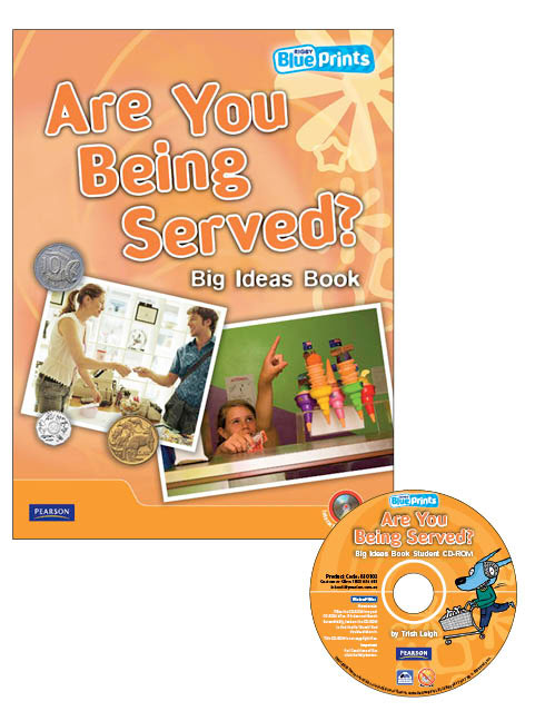 Blueprints Middle Primary B Unit 2: Are You Being Served? Big Ideas Book and CD-ROM