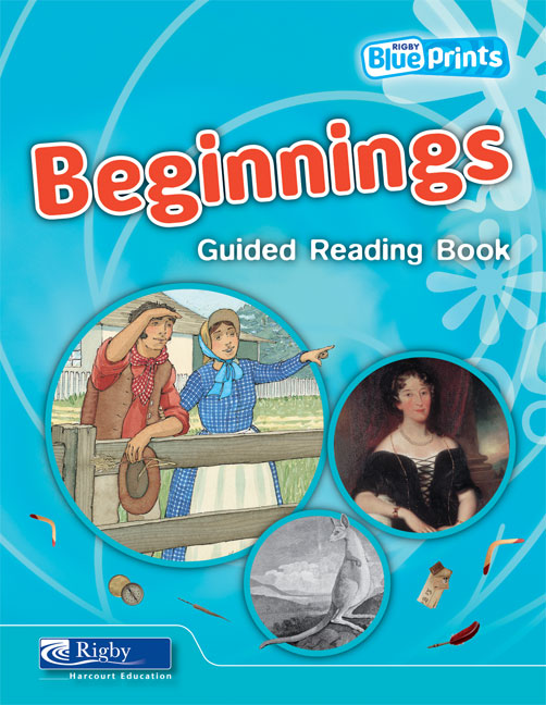 Blueprints Middle Primary B Unit 3: Beginnings Guided Reading Book