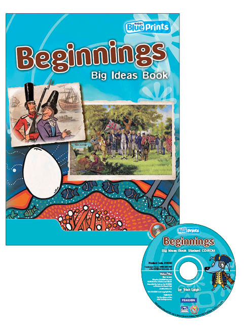 Blueprints Middle Primary B Unit 3: Beginnings Big Ideas Book and CD-ROM