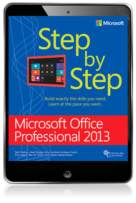 Microsoft Office Professional 2013 Step by Step eBook