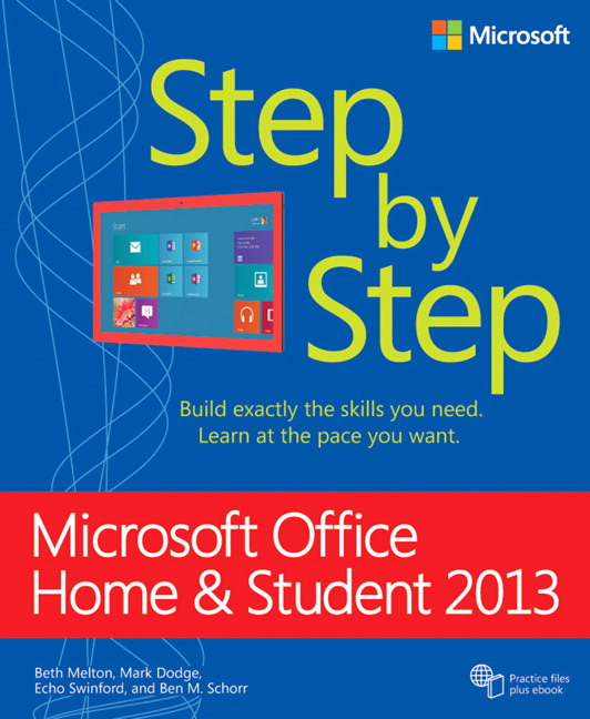 Microsoft office home and student 2013 step by step ebook 1st pearson 9780735671850 9780735671850 microsoft office home and student 2013 step by step ebook fandeluxe Gallery