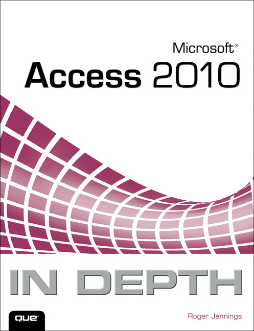 Microsoft access 2010 in depth 1st jennings roger buy online at featured titles fandeluxe Choice Image