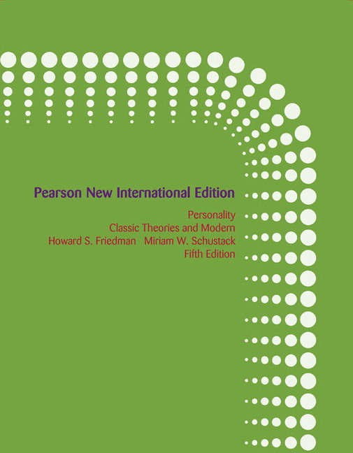 Personality classic theories and modern research 5th edition pdf.