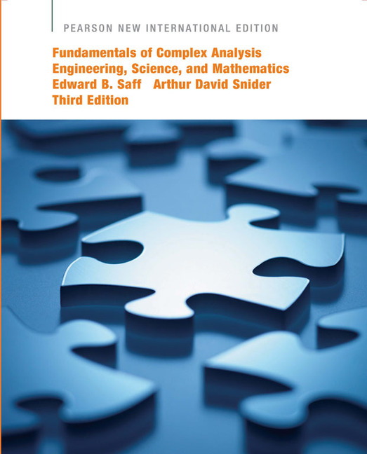 Fundamentals of complex analysis with applications to engineering this is the best seller in this market it provides a comprehensive introduction to complex variable theory and its applications to current engineering fandeluxe Images