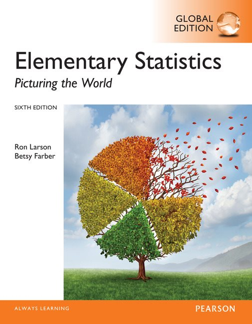 Elementary statistics picturing the world global edition 6th elementary statistics picturing the world global edition 6th larson ron farber betsy buy online at pearson fandeluxe Gallery