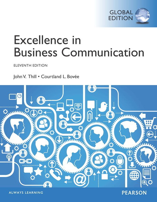 Excellence in business communication global edition 11th thill pearson 9781292060705 9781292060705 excellence in business communication global edition fandeluxe Gallery