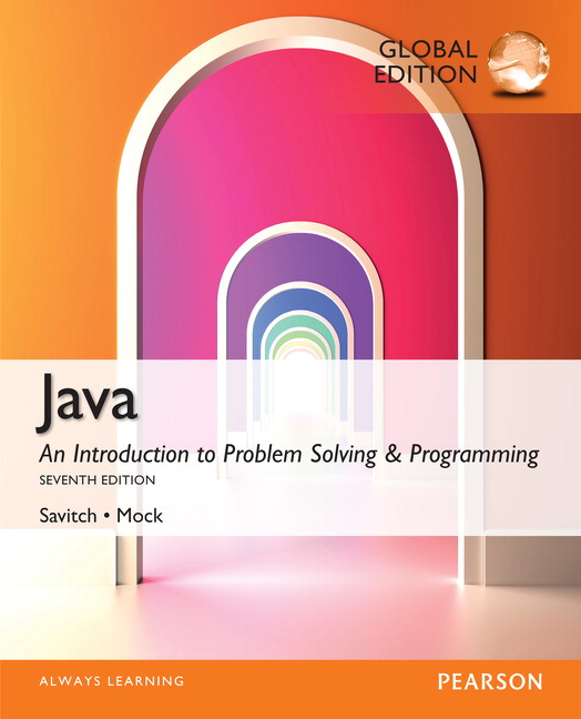 Java an introduction to problem solving programming global java an introduction to problem solving and programming is ideal for introductory computer science courses using java and other introductory programming fandeluxe Choice Image