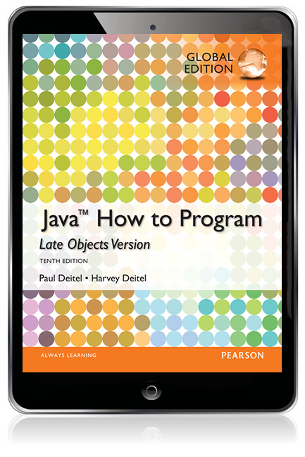 Java How to Program - Late Objects, Global Edition eBook