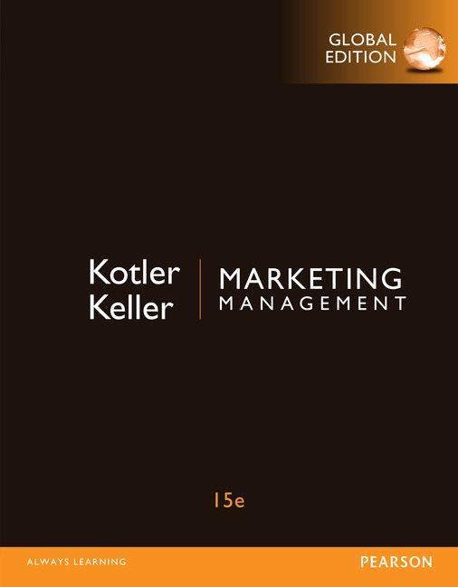 Marketing Management Global Edition 15th Kotler Philip Keller