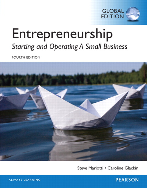 Entrepreneurship starting and operating a small business global for courses in entrepreneurship small business management and starting a business fandeluxe Image collections