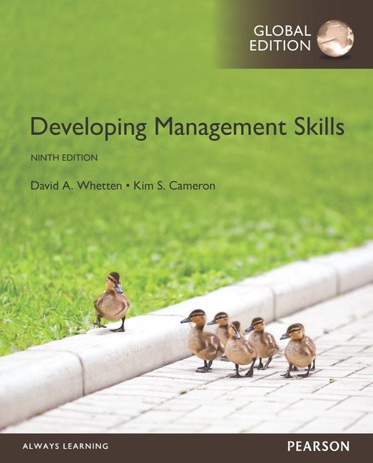 Developing Management Skills, Global Edition