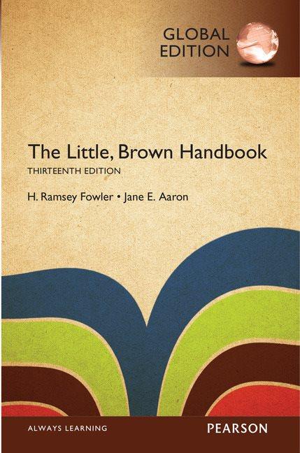 The Little Brown Handbook, Global Edition