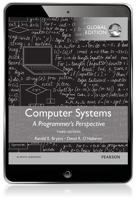 Computer Systems: A Programmer's Perspective, Global Edition eBook - Image