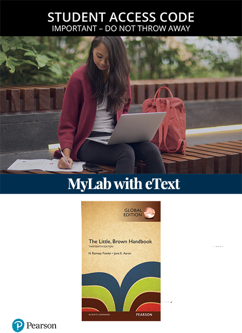 The Little Brown Handbook, Global Edition MyLab Writing with eText (Access Card)