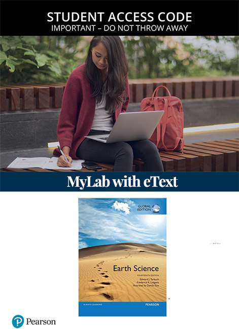 Earth Science, Global Edition Mastering Geology with eText (Access Card)