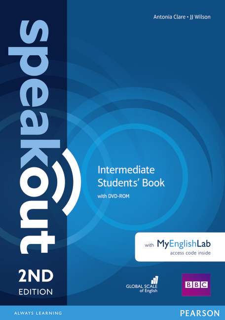 Speakout Intermediate Students' Book with DVD + MyEnglishLab