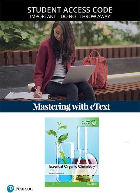 Essential Organic Chemistry, Global Edition Mastering Chemistry with eText (Access Card)