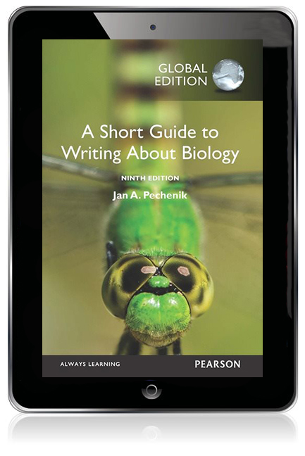 A short guide to writing about biology global edition ebook 9th edition ebook for courses in writing across the curriculum or writing about biology developing the tools to effectively write about biology fandeluxe Image collections
