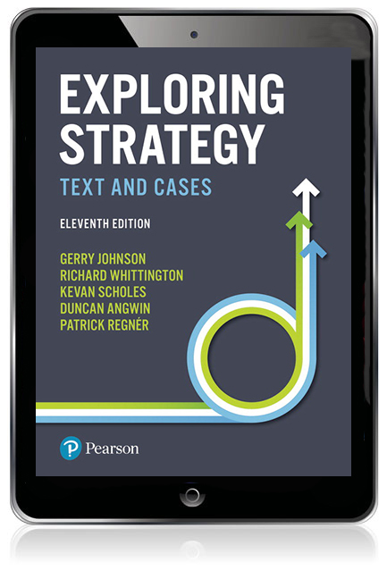 Exploring Strategy Text And Cases Ebook 11th Johnson Gerry Et Al