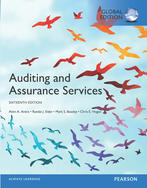 Auditing and assurance services global edition ebook 16th arens featured titles fandeluxe Gallery