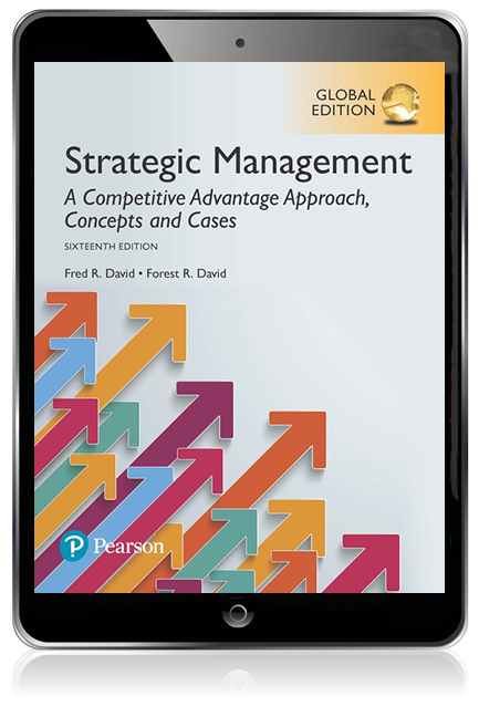 Strategic management a competitive advantage approach concepts and pearson 9781292148502 9781292148502 strategic management a competitive advantage approach concepts and cases global edition ebook fandeluxe Image collections