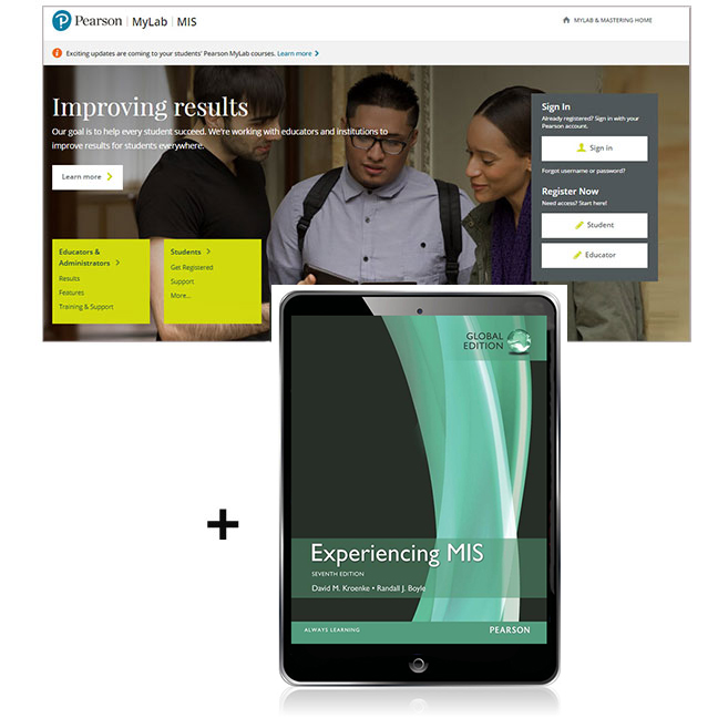 Experiencing MIS, Global Edition MyLab MIS with eText