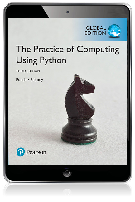 The Practice of Computing Using Python, Global Edition eBook