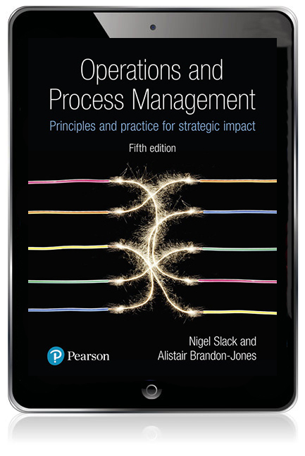 Operations and Process Management: Principles and Practice for Strategic  Impact eBook
