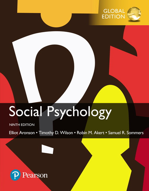 Social psychology global edition 9th aronson elliot et al buy pearson 9781292186542 9781292186542 social psychology global edition fandeluxe Image collections
