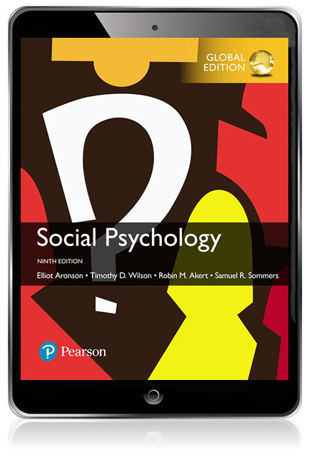Social psychology global edition ebook 9th aronson elliot et al pearson 9781292186573 9781292186573 social psychology global edition ebook fandeluxe Gallery