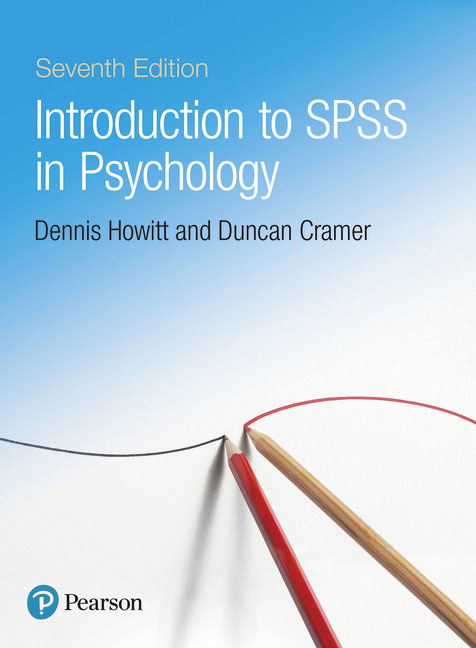 Introduction to spss in psychology 7th howitt dennis cramer introduction to spss in psychology 7th edition is the essential step by step guide to spss for students taking their first course in statistics fandeluxe Choice Image